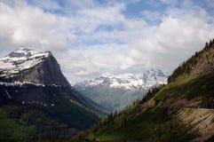 glaciär montana Arkivbild
