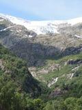glaciär norway Royaltyfria Bilder