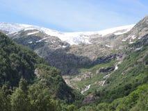 glaciär norway Fotografering för Bildbyråer