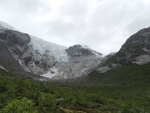 glaciär norway Royaltyfri Bild