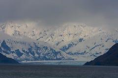 Glaciär och berg Royaltyfri Foto