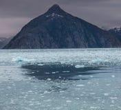 Glaciär på Alaska Royaltyfri Bild