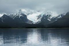 Glaciär på Alaska Royaltyfria Foton