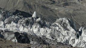glaciär Pamir Arkivbilder