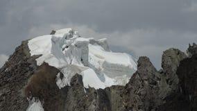 glaciär Pamir Royaltyfri Fotografi