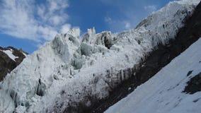 glaciär Pamir Royaltyfria Bilder