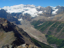 glaciär victoria Royaltyfri Fotografi