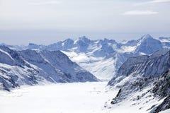 glaciärberg Royaltyfri Bild