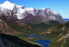 Glaciären parkerar Arkivfoton