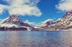 Glaciären parkerar royaltyfri foto