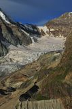 glaciären tiefmatten arkivfoton