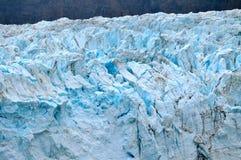 Glaciärer med blåa lock Arkivfoton