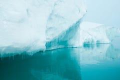 Glaciärer och isberg Royaltyfria Bilder