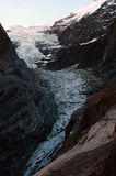 glaciärgrindelwaldupper Fotografering för Bildbyråer