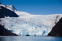 glaciärholgate Royaltyfri Foto