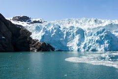 glaciärhubbard Arkivfoton