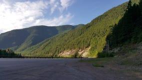 Glaciärhuvudväg Royaltyfri Foto