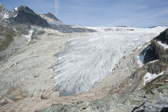 glaciärillecillewaet Royaltyfria Foton