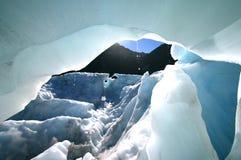 glaciärissmältning royaltyfri foto