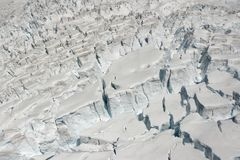 glaciärissnow Royaltyfria Bilder