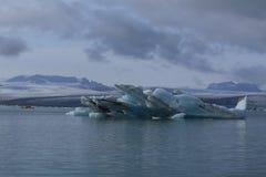 Glaciärlagun Royaltyfri Fotografi