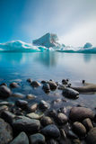 Glaciärlagun arkivbild