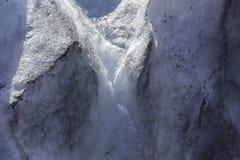Glaciärliten vik i Alaska Arkivbilder
