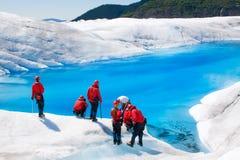 glaciärmendenhall arkivfoto