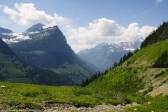 glaciärmontana nationalpark Royaltyfri Bild