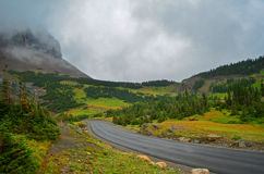 glaciärmontana nationalpark USA royaltyfri foto