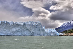 glaciärmoreno perito Arkivfoto