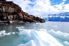 glaciärmoreno perito Fotografering för Bildbyråer