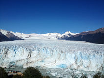 glaciärmoreno perito Arkivbild