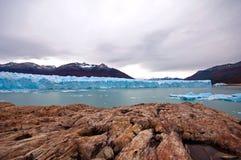 glaciärmoreno perito Royaltyfri Foto