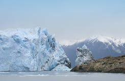 glaciärmoreno perito arenaceous härligt dimensionellt diagram illustration södra tre för 3d Amerika mycket royaltyfri fotografi
