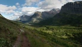 glaciärnp-dal Arkivfoton