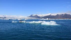 Glaciärskönhet av det fantastiska panoramalandskapet för natur arkivfoto