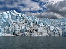 glaciärsmältning Arkivfoton
