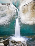glaciärsmältning Royaltyfria Foton