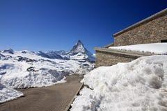 glaciärtrail Royaltyfri Fotografi