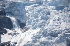 glaciärtrift arkivbilder