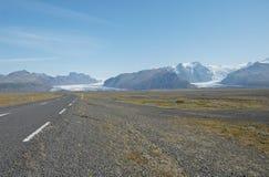 glaciärvatnajokul royaltyfri fotografi