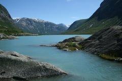 glaciärvatten Royaltyfria Bilder