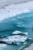 glaciärvatten Fotografering för Bildbyråer