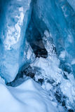 Glacial Blue Ice Royalty Free Stock Images