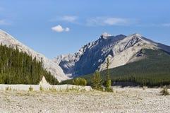 Glacial eluvial plain Royalty Free Stock Photography