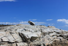 Glacial erratic Royalty Free Stock Photos