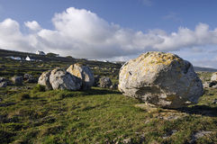 Glacial Erratic Boulder Field Royalty Free Stock Photography