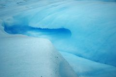 Glacial ice Royalty Free Stock Photos