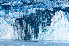 Glacial Ice in Alaska Stock Images